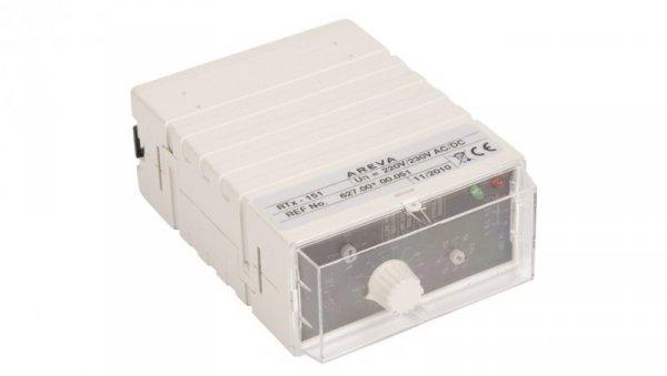 Przekaźnik czasowy 3P 5A 0,01sek-100h 220-230V AC/DC wielofunkcyjny RTx-151 220/230 2000670