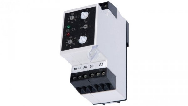 Przekaźnik czasowy 2P 5A 0,01sek-100h 220-230V AC/DC wielofunkcyjny RTx-230 220/230 2000809