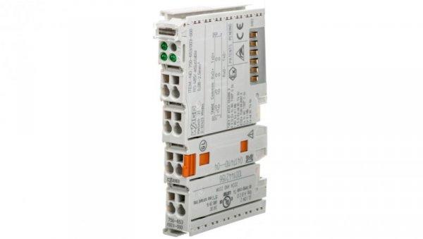 Moduł RS-485 konfiguracjaa dowolna na TS35 750-653/003-000