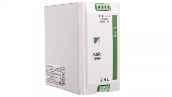 Zasilacz impulsowy modułowy KSR 12024 230VAC/24VDC 120W 5A 18924-9993