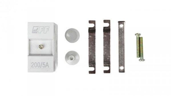 Przekładnik prądowy na kabel i szynę fi22+30/25/20x10mm TI-200-5