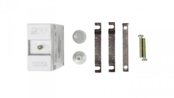 Przekładnik prądowy na kabel i szynę fi22+30/25/20x10mm TI-100-5