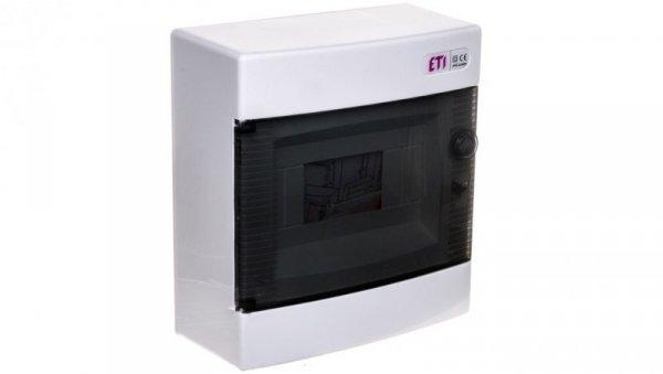 Rozdzielnica modułowa 1x8 natynkowa /transparentna/ IP40 ECT8PT DIDO 001101000