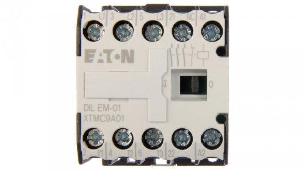 Stycznik mocy 9A 3P 24V AC 0Z 1R DILEM-01(24V50/60HZ) 020402