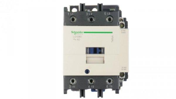 Stycznik mocy 80A 3P 230V AC 1Z 1R LC1D80P7