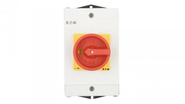 Łącznik krzywkowy 0-1 3P 25A 1Z 1R w obudowie IP65 P1-25/I2-SI/HI11 207310