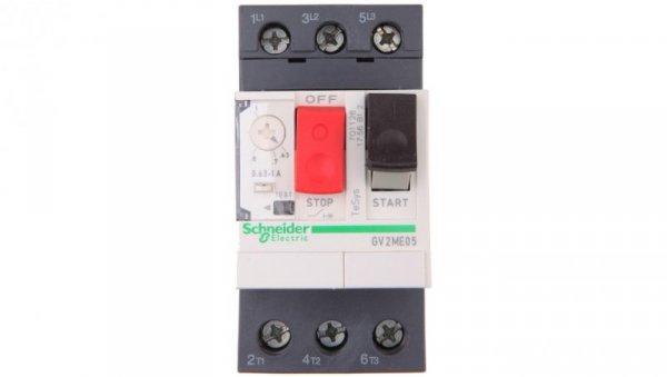 Wyłącznik silnikowy 3P 0,25kW 0,63-1A GV2ME05