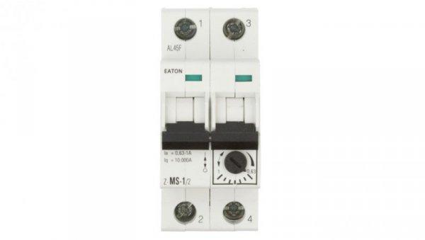 Wyłącznik silnikowy 2P 0,25kW 0,63-1A Z-MS-1,0/2 248393