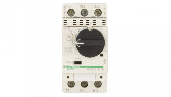 Wyłącznik silnikowy 3P 4kW 6-10A GV2P14