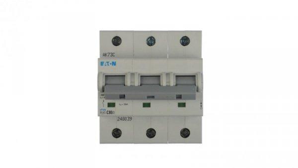 Wyłącznik nadprądowy 3P C 80A 20kA AC PLHT-C80/3 248039
