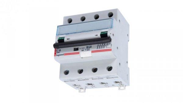 Wyłącznik różnicowo-nadprądowy 4P 10A C 0,03A typ AC P314 DX3 411185