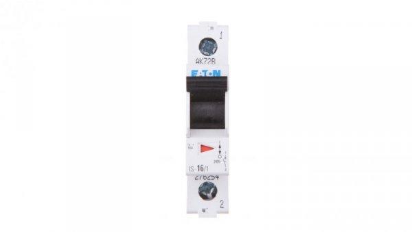 Rozłącznik modułowy 16A 1P IS-16/1 276254