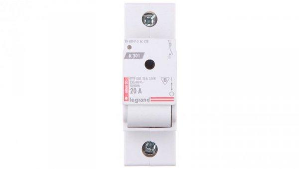 Rozłącznik bezpiecznikowy 1P 20A D02 R301 606605