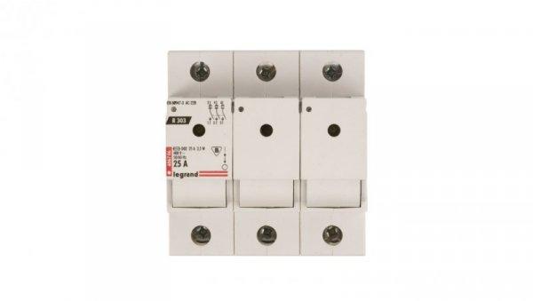 Rozłącznik bezpiecznikowy 3P 25A D02 R303 606706