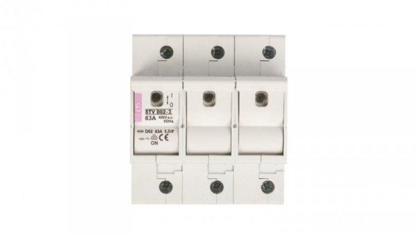 Rozłącznik bezpiecznikowy 3P 63A STV D02 002271004