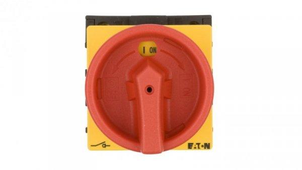 Łącznik krzywkowy 0-1 3P+N 32A do wbudowania P1-32/EA/SVB/N 091079