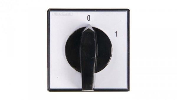 Łącznik krzywkowy 0-1 3P 100A do wbudowania 4G100-10-U 63-840304-071