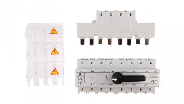 Przełącznik sieć-agregat 160A 3P+N (biegun N nierozłączalny) PRZK-3160NW02