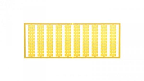Ramka z oznacznikami bez nadruku żółta 209-501/000-002 /5szt./