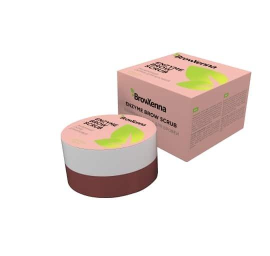 NOWOŚĆ! BrowXenna® Enzymatyczny peeling do brwi z Keratoliną.