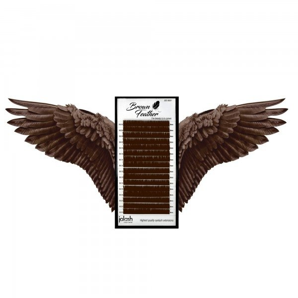 Rzęsy Brown Feather
