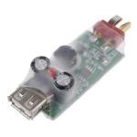 Zasilacz USB 5V 3A - awaryjne zasilanie USB z lipola 2-6S - do telefonu, tabletu, iPad