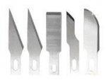 Maxx Knives - Zestaw 5 ostrzy (#10, #16, #17, #11) zamiennych do noży 50030-50036