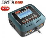 Oryginalna ładowarka SkyRC D100 2x10A 200W-DC 100W-AC Dual Power