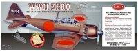Mitsubishi Zero [404LC] - Samolot GUILLOWS BALSA KIT