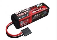 TRAXXAS - pakiet napędowy LiPo 11,1V / 6400mAh / 25C