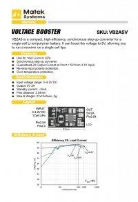 MATEK BEC VOLTAGE BUSTER układ bec na 1S li-po do 5V/2A