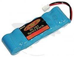 Pakiet 7,2V NiMH 1100 mAh - Team AE