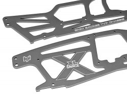 MAIN CHASSIS SET (SAVAGE XL/GRAY)