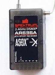 Spektrum DSM X - odbiornik 6CH AR636A AS3X Sport DSMX