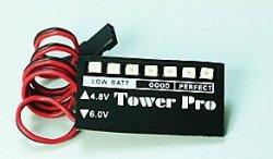 Wskaźnik napięcia pakietu odbiornika Tower Pro