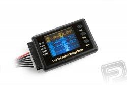 Wskaźnik napięcia i pojemności akumulatorów  RAYTRONIC M8
