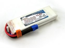 Akumulator Dualsky 2800 mAh 30C/5C 14.8 V 4s