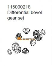 Differential bevel gear set - Ansmann Virus