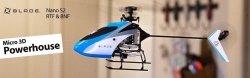 Helikopter RC Blade Nano S2 FLYBARLESS RTF SAFE TECHNOLOGY