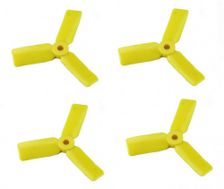 Śmigła DAL Bullnose T3030BN - yellow - Tri-blade - 3x3x3 - 2xCW/2xCCW - DAL-PROP 4 szt