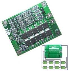 Moduł BMS PCM PCB ładowania i ochrony ogniw Li-Ion - 4S - 14,8V - 40A - do ogniw 18650