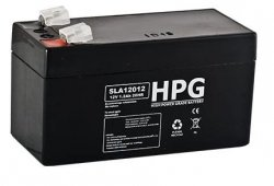 Bezobsługowy akumulator żelowy Pb 12V 1,2Ah