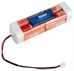 Akumulator NiMh 2000mAh 9,6V kostka