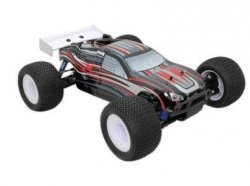 Karoseria czarna VRX-1 Truggy printed PC body(black)