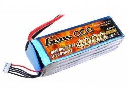 4000mAh 14.8V 25C Gens Ace
