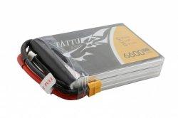 6600mAh 14.8V 35C Flat Pack TATTU Gens Ace