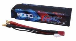 6000mAh 7.4V 70C RS HardCase Gens Ace