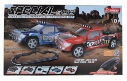 Zestaw Slot Cars Superior 503 1:43 - 446cm, skok, 2 mosty, 240V