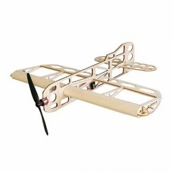 Samolot GEEBEE Balsa Kit (rozpiętość 600mm) + Motor + ESC + 3x Servo