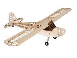 Samolot J3 Balsa KIT (1180mm) + Motor + ESC + 4x Serwo